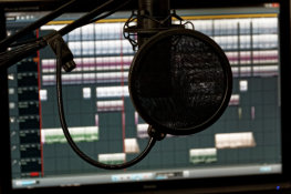 Microphone and Audio Editor